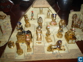 Complete collection of pyramids and pharaohs