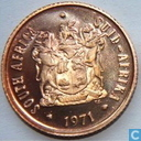 South Africa 2 cents 1971