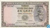 Timor 20 Escudos