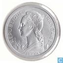 2 francs 1965 Côte française des Somalis