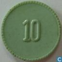 """10 cent 1951 """"ministerie van oorlog"""""""