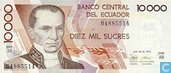 Ecuador SUCRES 10.000
