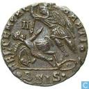 Romeinse Keizerrijk Siscia AE2 Centenionalis van Keizer Constantius Gallus 353 n.Chr.