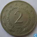 Joegoslavië 2 dinara 1972