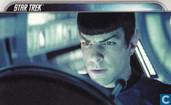 Young Spock pilots a stolen ship.