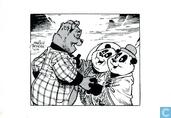 Ansichtkaarten - Bommel en Tom Poes - Uitgeverij Panda Kerstkaart 1989/1990