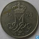 Denmark 10 øre 1974