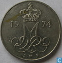 Denemarken 10 øre 1974