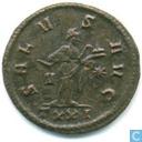 Römisches Kaiserreich Ticinum Antoninianus von Kaiser Probus 281 n.Chr.
