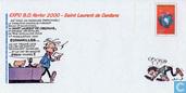 """>> Entier postal >> Rubrique philatélie >> Enveloppe """"Expo BD février 2000"""""""