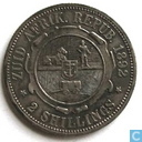 Zuid-Afrika 2 shillings 1892