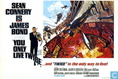 EO 00726 - Bond Classic Posters - You Only Live Twice (volcano)