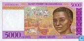 Madagascar 5000 Francs