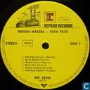 Disques vinyl et CD - Makeba, Miriam - Pata Pata the hit sound of Miriam Makeba