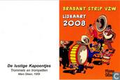 Brabant Strip lidkaart 2008