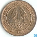 South Africa 1 / 4 penny 1950