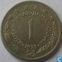 Joegoslavië 1 dinar 1973