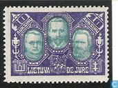 J. Staugaitis, A. Smetona, S. Šilingas
