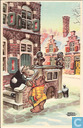 Cartes postales - Tom Pouce - Nieuwjaarskaart Bommel en Tom Poes