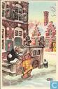 Ansichtskarten  - Bommel und Tom Pfiffig - Nieuwjaarskaart Bommel en Tom Poes