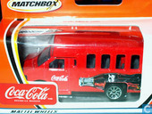 Model cars - Matchbox - Chevrolet Van 'Coca-Cola'