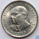 "Zuid-Afrika 10 cents 1979 ""The end of Nicolaas Johannes Diederichs' presidency"""
