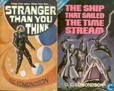 Boeken - Edmondson, G.C. - Stranger than you think + The Ship that sailed the time stream
