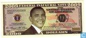 U. S. fédérale inaugurale 2009 $ note