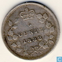 Canada 5 cents 1888
