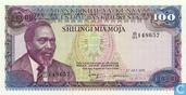 100 shillings du Kenya
