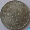 Tchécoslovaquie 5 korun 1974