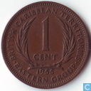 British Caribbean Territories 1 cent 1955