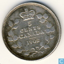 Canada 5 cents 1902