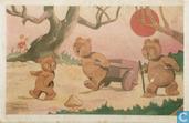 615 [Drie beren met handkar]