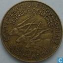 États de l'Afrique équatoriale 10 francs 1961