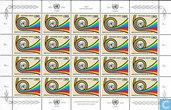 25 jaar Posterijen verenigde naties