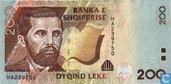 Albanie 200 Lekë 2001
