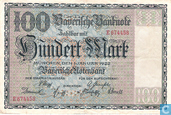 Bayerische Notenbank, 100 Mark 1922