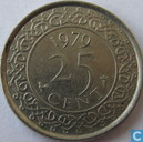 Suriname 25 cent 1979