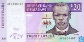 Malawi 20 Kwacha 1997
