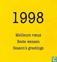 1998 Meilleurs voeux/Beste wensen/Season's greetings