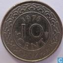 Suriname 10 cents 1976