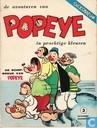 Comic Books - Popeye - De schipbreuk van Popeye