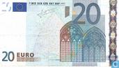 Zone Euro 20 Euro X-P-T