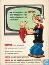 Comics - Popeye - De schipbreuk van Popeye