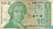 Croatie 100 Dinara