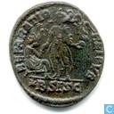 Romeinse Keizerrijk Siscia AE2 van Keizer Gratianus 378-383