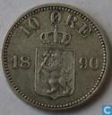 Norwegen 10 Øre 1890