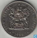 South Africa 1 rand 1980