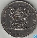 Afrique du Sud 1 rand 1980